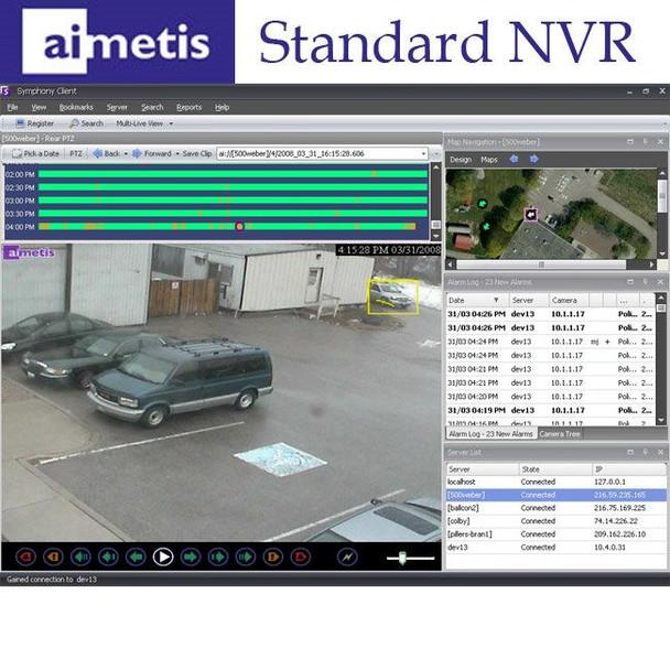 Senstar Aimetis Symphony Standard Network Video Recorder 1-Camera Software License - SYMSVSLS