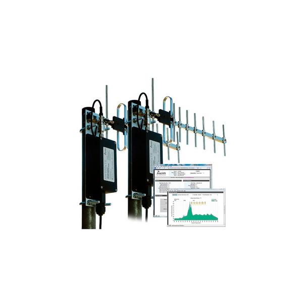 Avalan Wireless AW900xTR-PAIR 900MHz NLOS Outdoor Wireless Ethernet Bridge