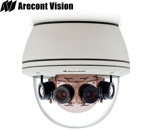 Arecont Vision AV8185DN-HB 180 Degree 8MP Dome IP Security Camera - Day/Night