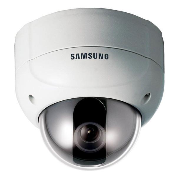 Samsung SCV-2120 600TVL Outdoor Dome CCTV Analog Security Camera - 12x zoom