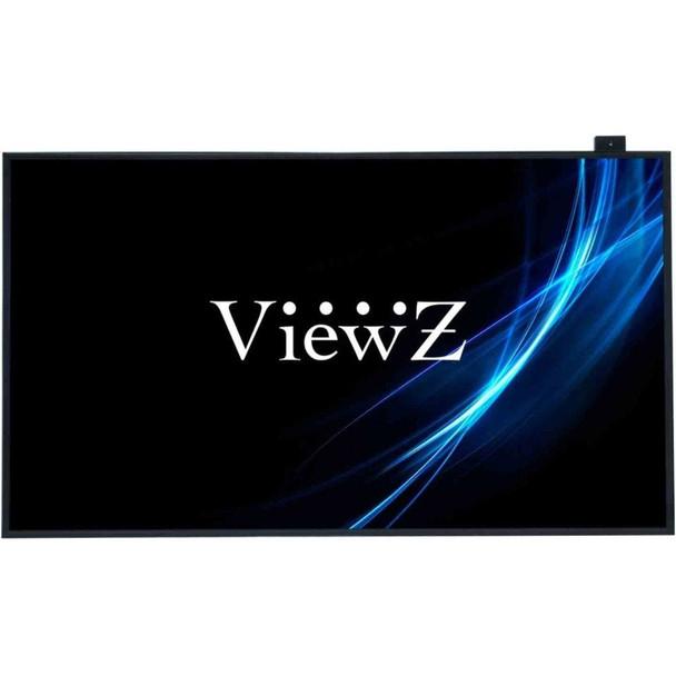 "ViewZ VZ-46NL 46"" Full HD Digital Signage CCTV Monitor - 46"" Black All Metal 12.5 mm Bezel Flat Panel Widescreen DID LED"