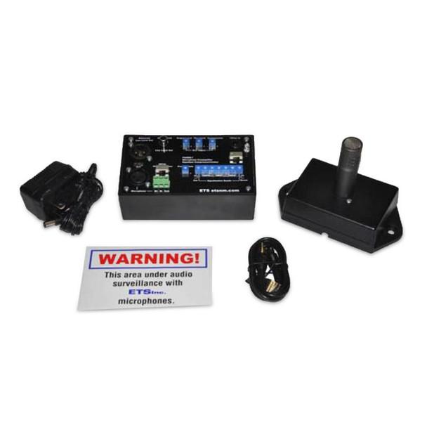 ETS SM5-EQ-PRO Professional Grade Single Zone Audio Surveillance Kit