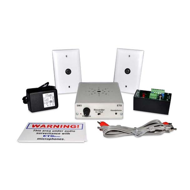 ETS SM6-M2 Expanded Single Zone Audio Surveillance Kit