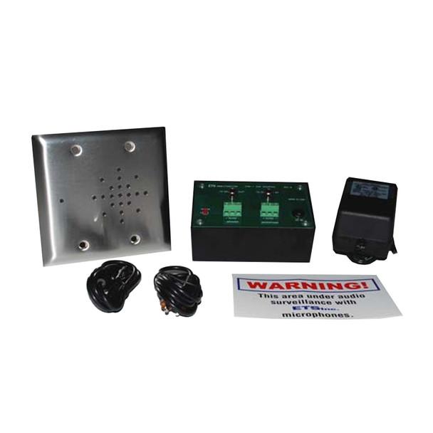 ETS STWI5 Single Zone 2 way Audio Surveillance Kit