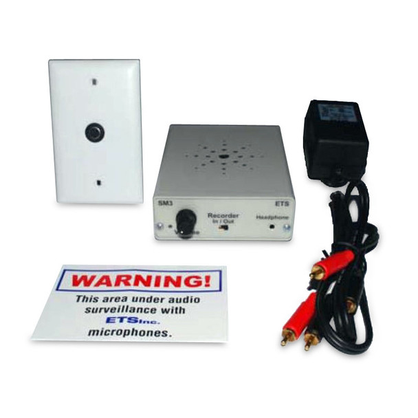 ETS SM6 Single Zone Audio Surveillance Kit