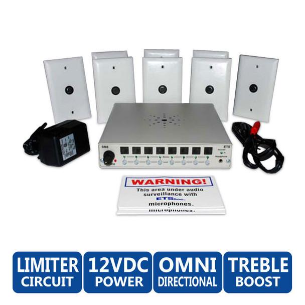 ETS SM9 8 Zone Audio Surveillance Kit