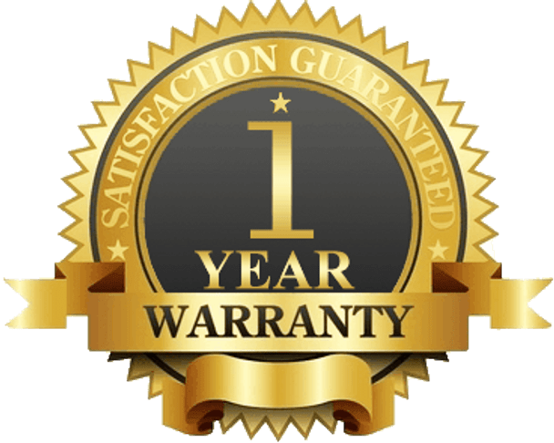 1-Year Limited Manufacturer Warranty