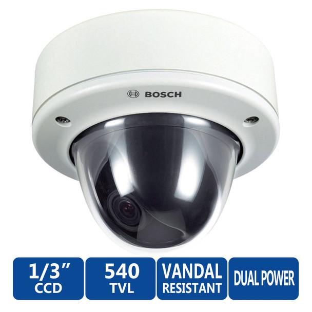 Bosch VDC-455V03-20 FlexiDome Vandal-Resistant Camera - White