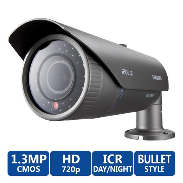 Samsung SNO-5080R 720P HD IR Day/Night Bullet IP Security Camera