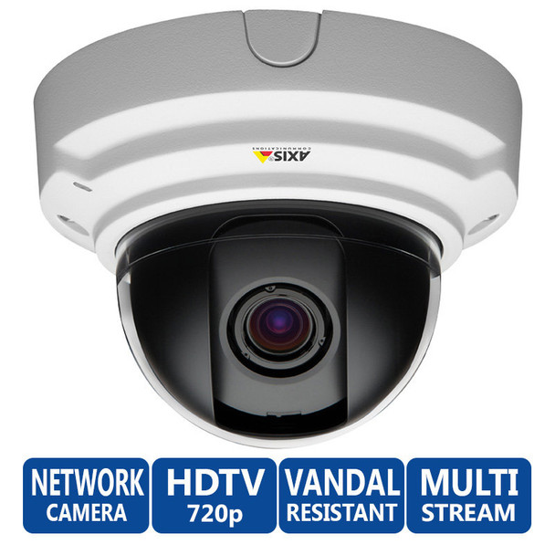 Axis P3384-V Lightfinder 720P HD Network Security Camera