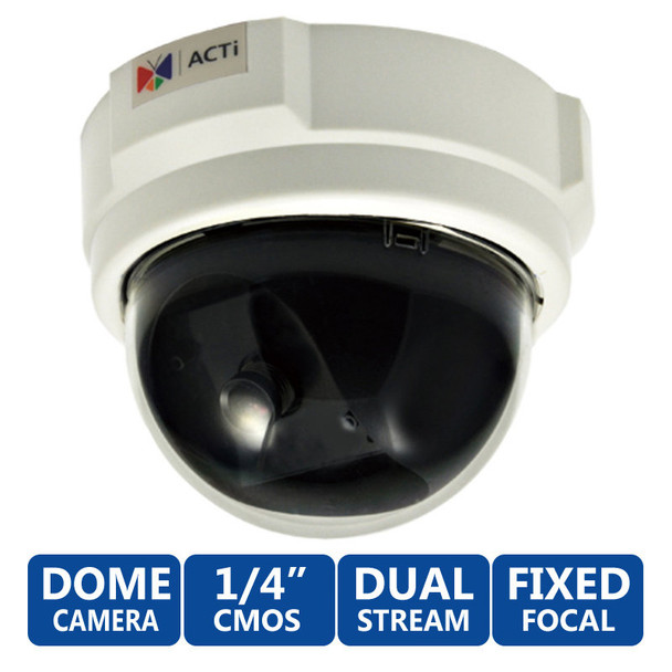 ACTi E51 WDR 720P HD Network Security Camera