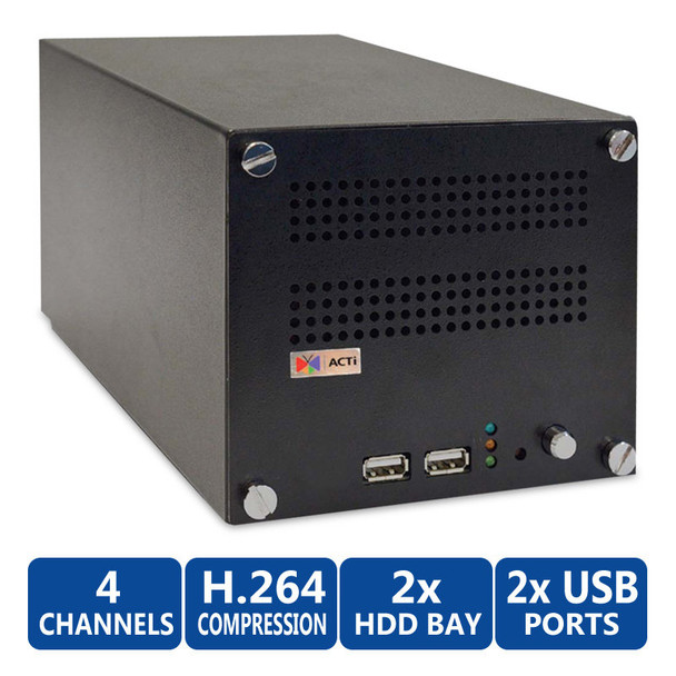 ACTi ENR-1000 4-camera NVR Network Video Recorder