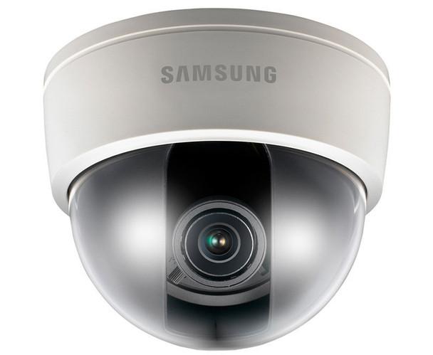 "Samsung SND-5061 1.3MP Indoor Dome IP Security Camera - 3~8.5mm Varifocal Lens, 1/3"" CMOS, HD, Day/Night, Vandal-resistant"