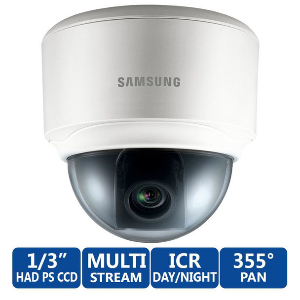 Samsung SND-3082 Indoor Day/Night Dome IP Security Camera