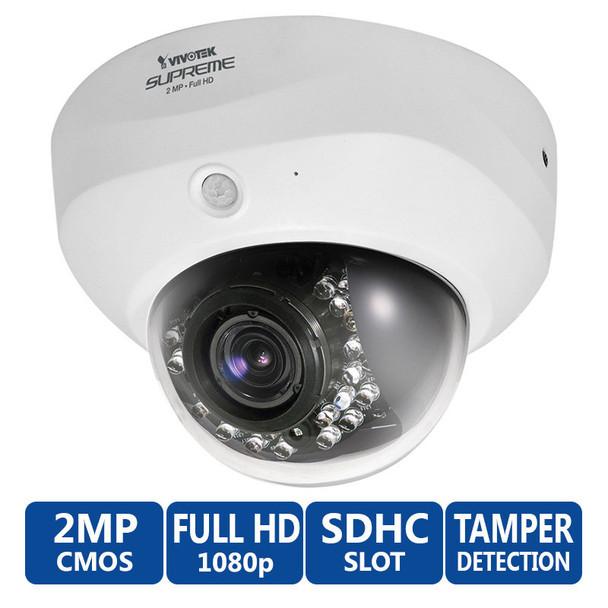 Vivotek FD8162 1080P HD IR Day/Night Dome Security Camera