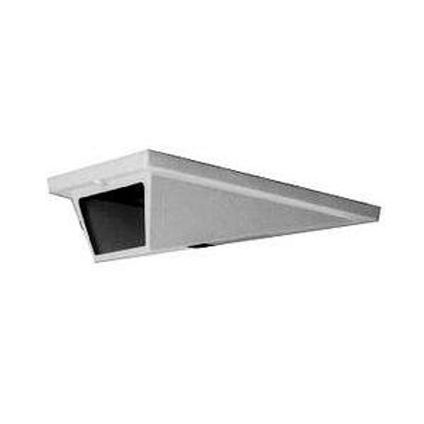 Pelco EH2100P Low Profile Indoor Wedge Enclosure with Welded Back Box for In-Ceiling