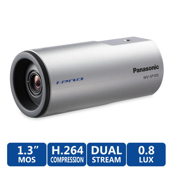 Panasonic WV-SP105 i-Pro IP Security Camera