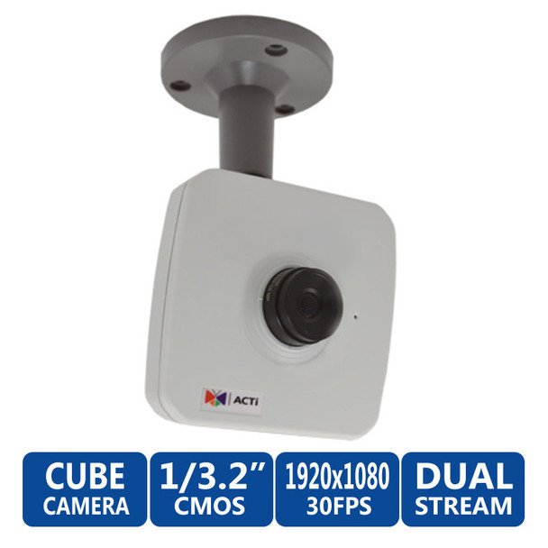 ACTi E13A WDR 5 Megapixel Full HD Network Security Camera