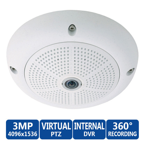 Mobotix MX-Q24M-SEC-D11 360-degree Fisheye IP Security Camera