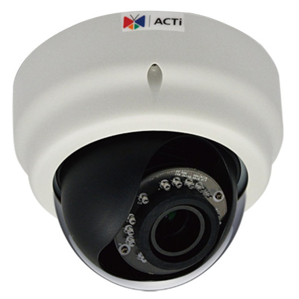 ACTi D64 1 Megapixel IR Day/Night Dome Network Security Camera