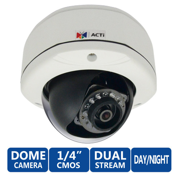 ACTi E71A 720P HD IR Day/Night WDR Network Security Camera