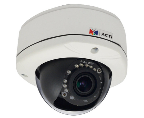 ACTi E82A 3MP IR Day/Night WDR Dome IP Security Camera