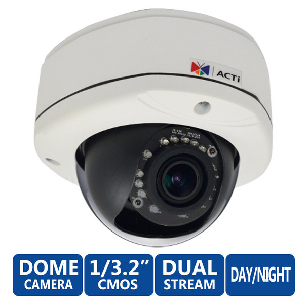 ACTi E83A 5MP IR Day/Night WDR Network Security Camera