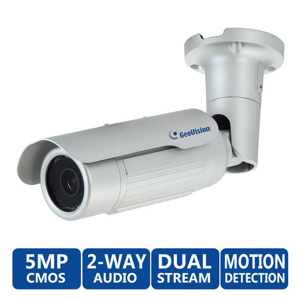 GeoVision GV-BL5310 5MP Infrared WDR Optical Zoom IP Security Camera