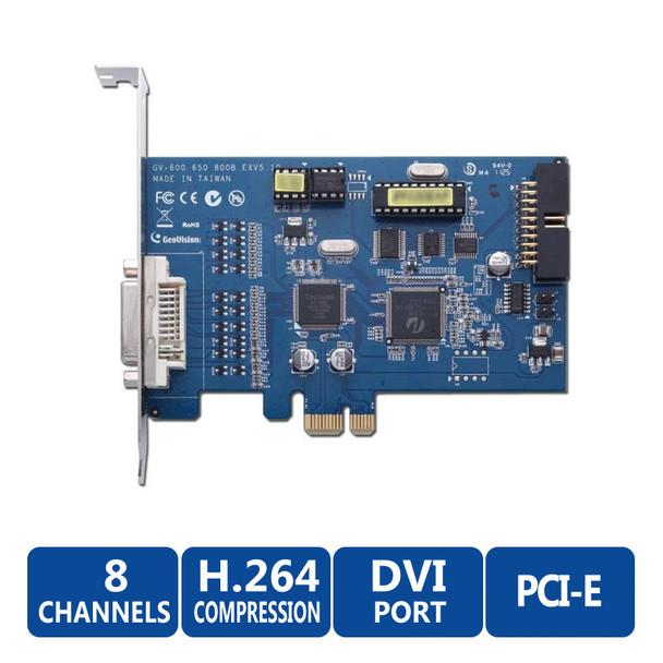 Geovision GV-650-8 8-Channel PCI DVR Card (60fps)