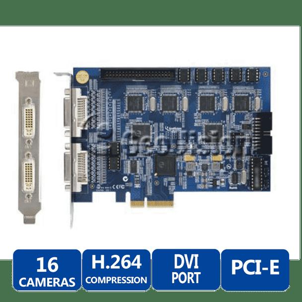 Geovision GV-1480-16 16-camera Digital Video Recorder Capture Card