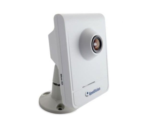 GeoVision GV-CB120 1.3MP HD Cube IP Security Camera - 3 Year Warranty