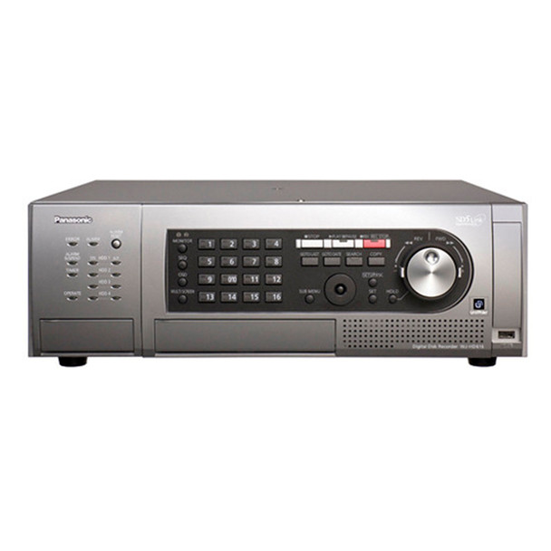 Panasonic WJHD616/2000T2 16-Channel H.264 Real-Time Digital Video Recorder
