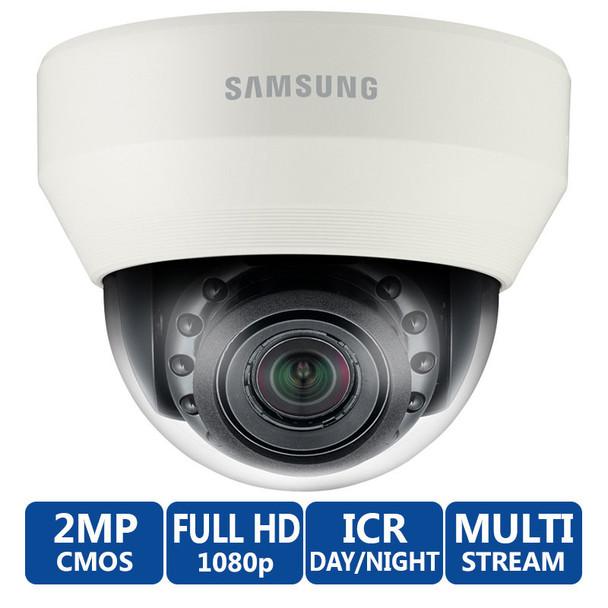 Samsung SND-6084R WiseNet III IR 2MP 1080p Full HD Network Dome Camera