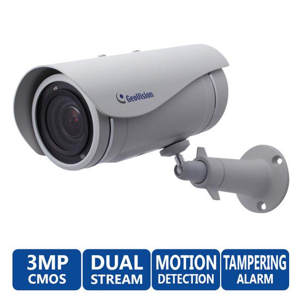 Geovision GV-UBL3401 3 Megapixel IR Day/Night Outdoor Security Camera