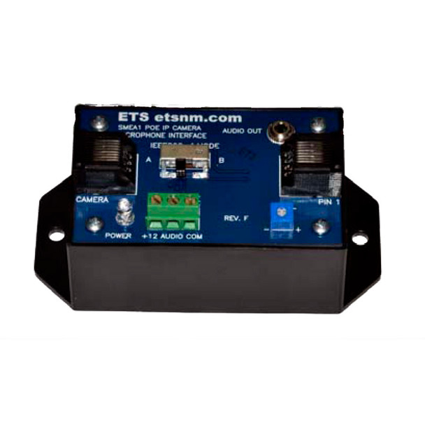 ETS SMEA-1 (RCA) POE Audio Interface Box