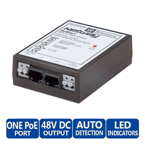 Altronix NETWAY1 Single Port Injector