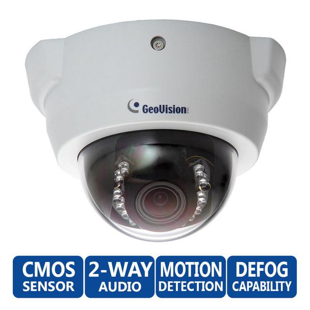 Geovision GV-FD1200 1.3MP Indoor IR Dome IP Camera - Low Lux