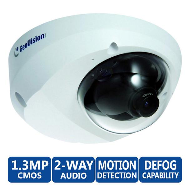 Geovision GV-MFD1501 1.3MP Mini Dome IP Camera - Super Low Lux