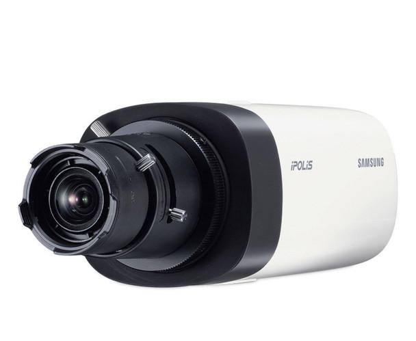 Samsung SNB-6003 2MP Indoor Box IP Security Camera - C/CS Mount Lens
