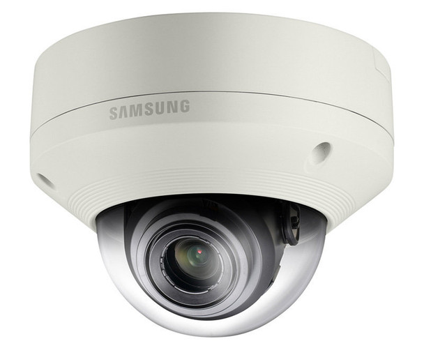 Samsung SND-5084 1.3MP Indoor Dome IP Security Camera - 3~8.5mm Motorized Lens, 60fps at 720P