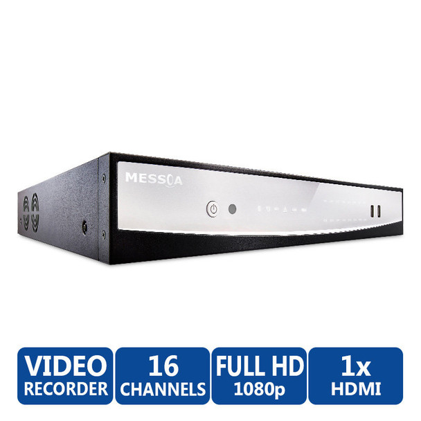 Messoa NVR206-016 16-channel Plug & Play Network Recorder