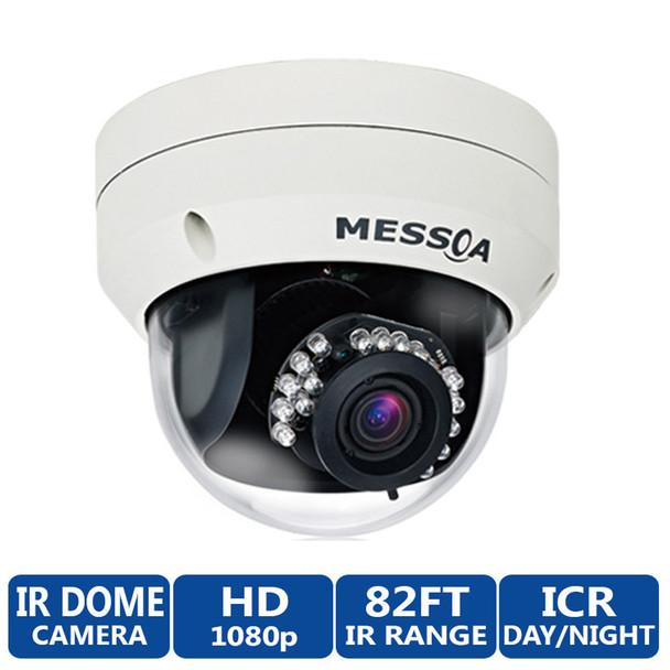 Messoa NDR891PRO Outdoor IR Dome 1080P HD Security Camera