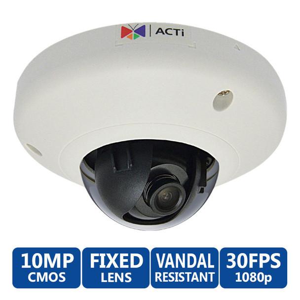 ACTi E97 10MP Indoor Mini Dome IP Camera