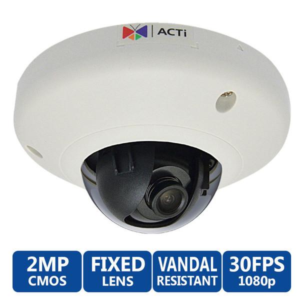 ACTi E95 2MP Indoor Mini Dome Camera