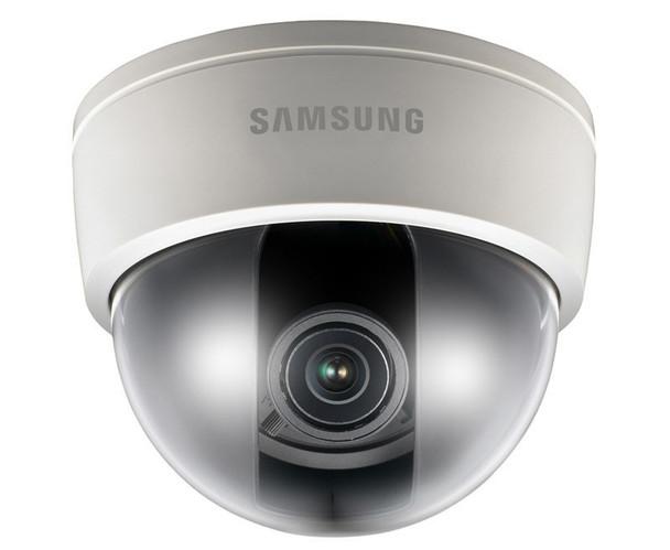 "Samsung SCD-3083 700TVL Indoor Dome CCTV Analog Security Camera - 3~8.5mm Motorized Lens, WDR, 960H, 1/3"" CCD"