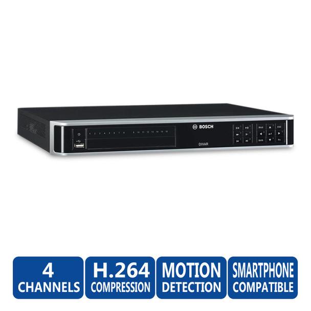 Bosch DVR-3000-04A000 DIVAR 3000 960H 4ch DVR -No HDD