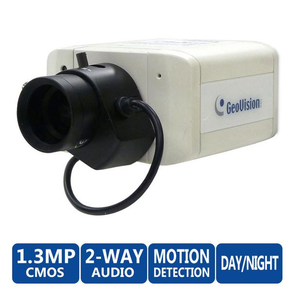 Geovision GV-BX1500-3V 1.3MP Low Light WDR IP Security Camera