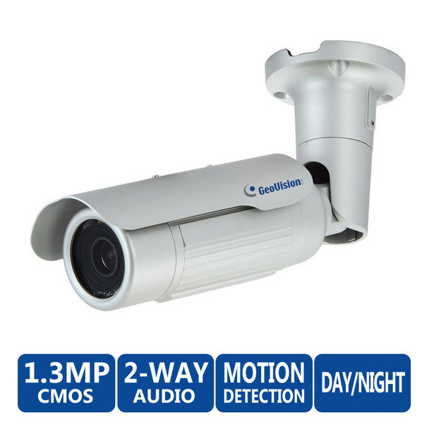Geovision GV-BL1500 1.3MP Low Lux IR Bullet Network Camera
