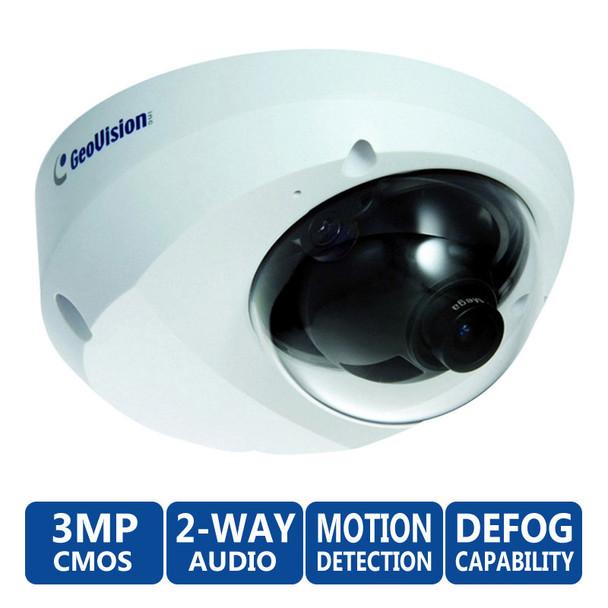 Geovision GV-MFD3401-5F 3MP Mini Dome IP Security Camera