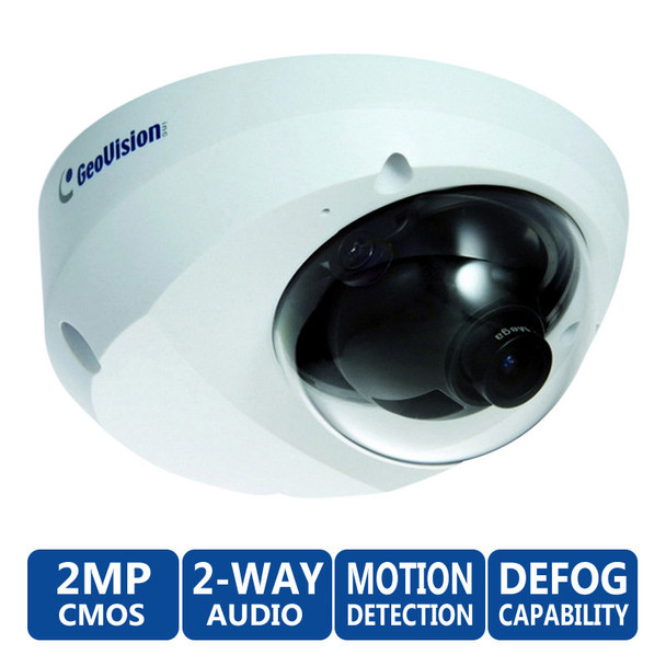 Geovision GV-MFD2401-1F 2MP Mini Dome IP Security Camera